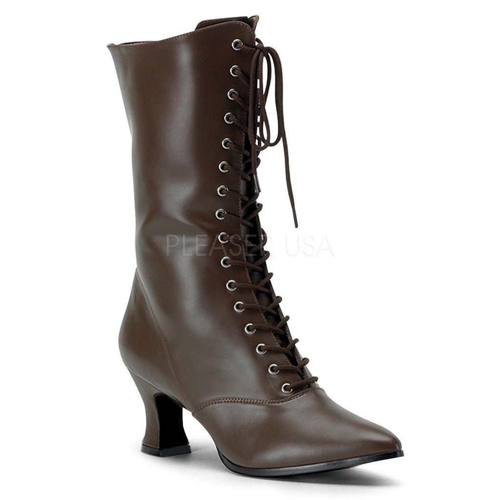 FUNTASMA Victorian-120 1800s 1900s Witch Vintage Pioneer Steampunk Granny Boots - A Shoe Addiction