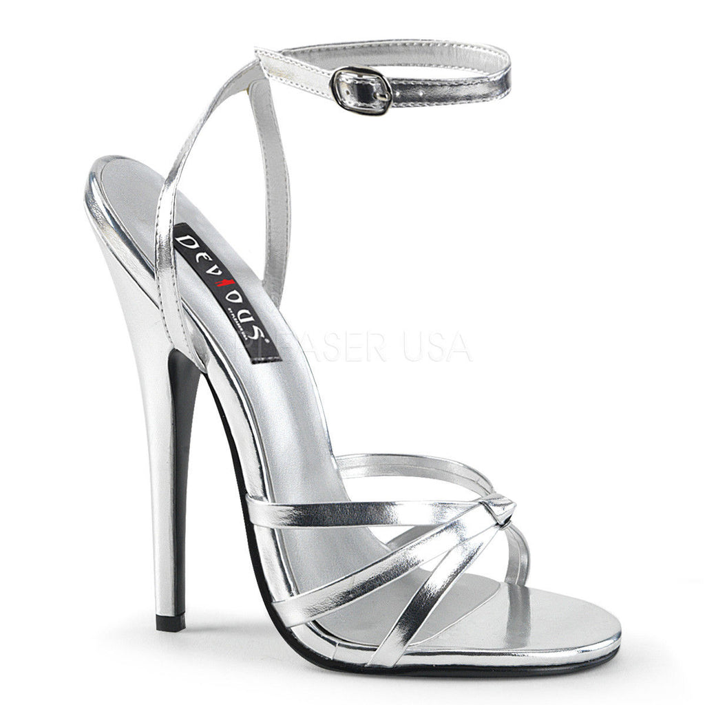 "DEVIOUS Domina-108 Sexy Fetish Strappy Dress Sandals Drag 6"" Heels Womens 4-15 - A Shoe Addiction"