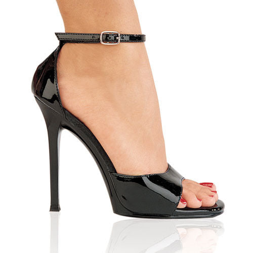 "Discontinued FABULICIOUS Gala-36 Black Dress Formal Wedding Party 4.5"" Heels - A Shoe Addiction"