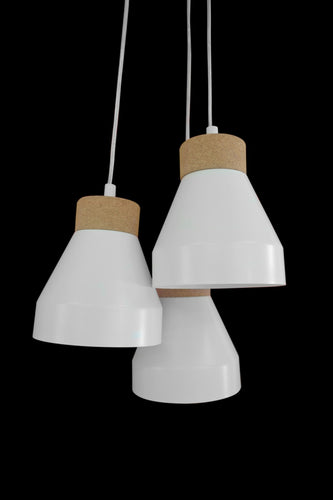 Aksel Pendant Group | White
