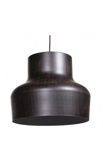 Aron Pendant Light | Dark Wood