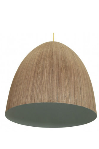 Cacia Pendant Light | Medium Wood