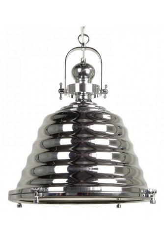 Gaia Elegant Pendant Light | Chrome