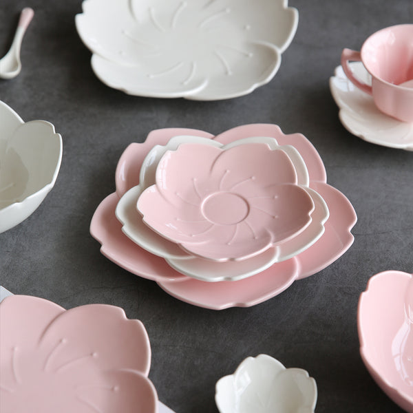 Cherry Ceramic Plate - Cloudberrytale
