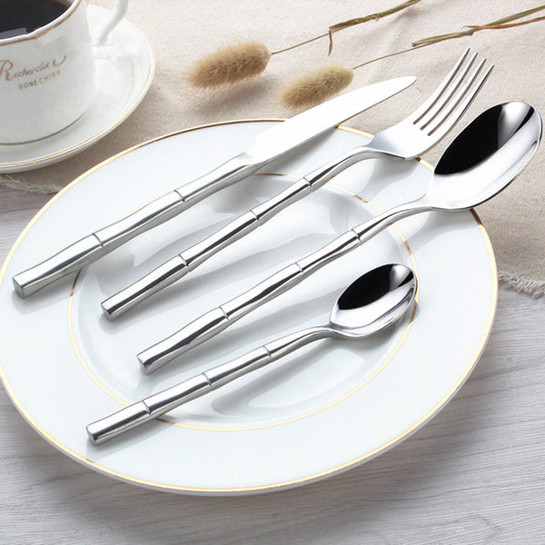 Butto Flatware Set - (24Pcs - 6 Sets) - Cloudberrytale