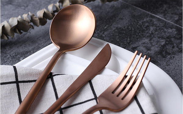 Roza Flatware Set (24pcs) - Cloudberrytale