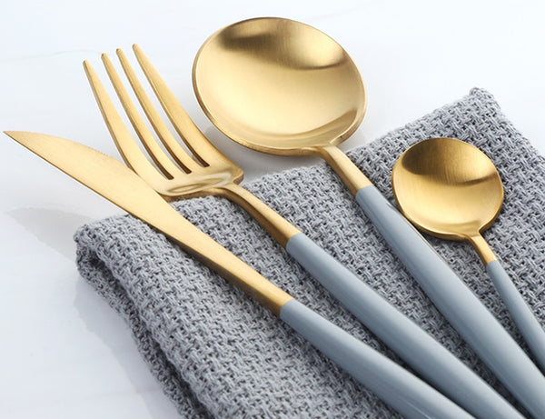 Loddi Pastel Color Series - 4pcs Flatware Set (NEW!) - Cloudberrytale