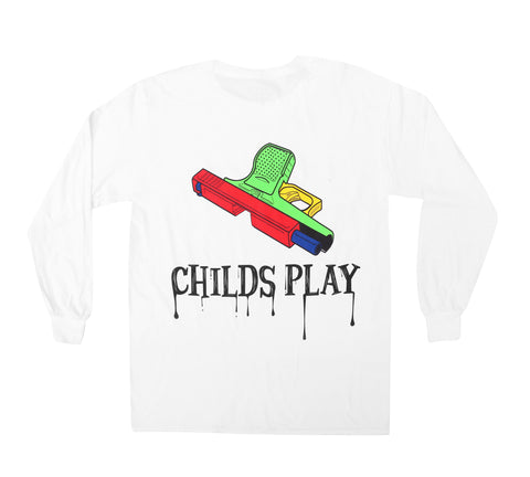 Full Sleeves Childs Play Tee Shirt - Fuck What You Think Clothing Co.