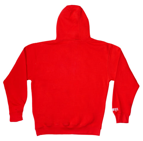California Republic Hoodie - Red - Fuck What You Think Clothing Co.