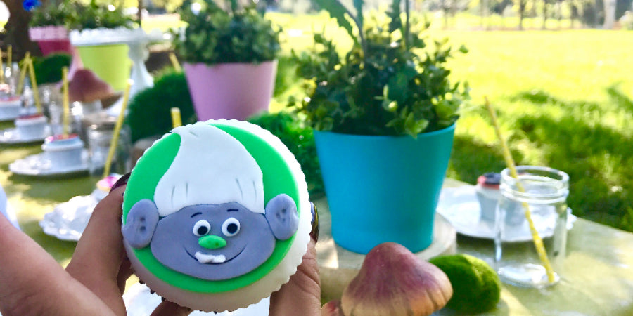 Trolls Movie inspired Kids Party Ideas