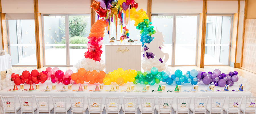 LAVISH RAINBOW UNICORN PARTY – KIDS PARTY IDEAS