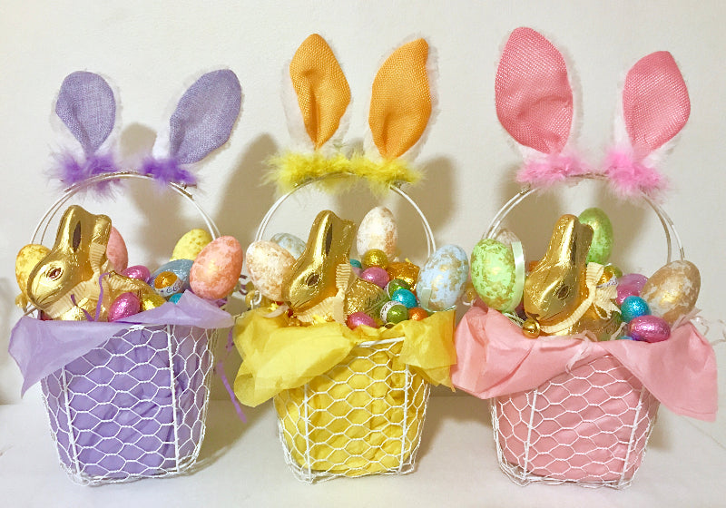 How to make an easter basket lt 15 kids easter crafts we came colourful already made easter gift baskets ideas negle Images