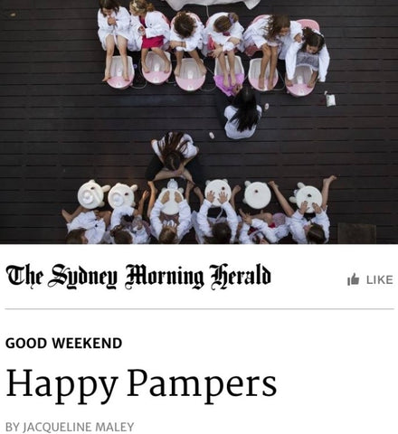 Sydney Morning Herald Pamper Party Feature