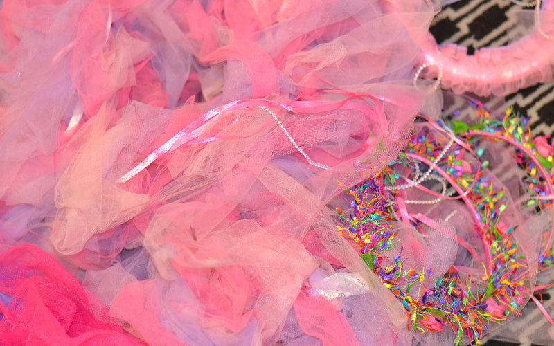 Fairy costume; tutu, wings and crowns
