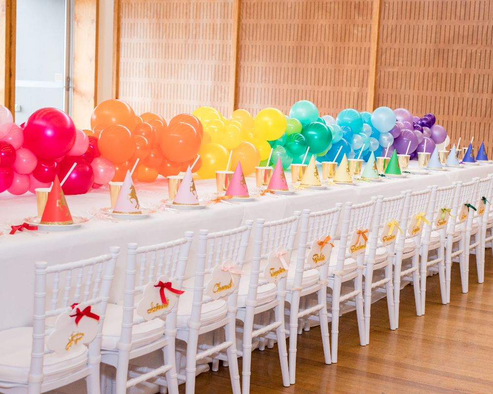 Negozio Di Sconti Online Rainbow Party Decorations Kids