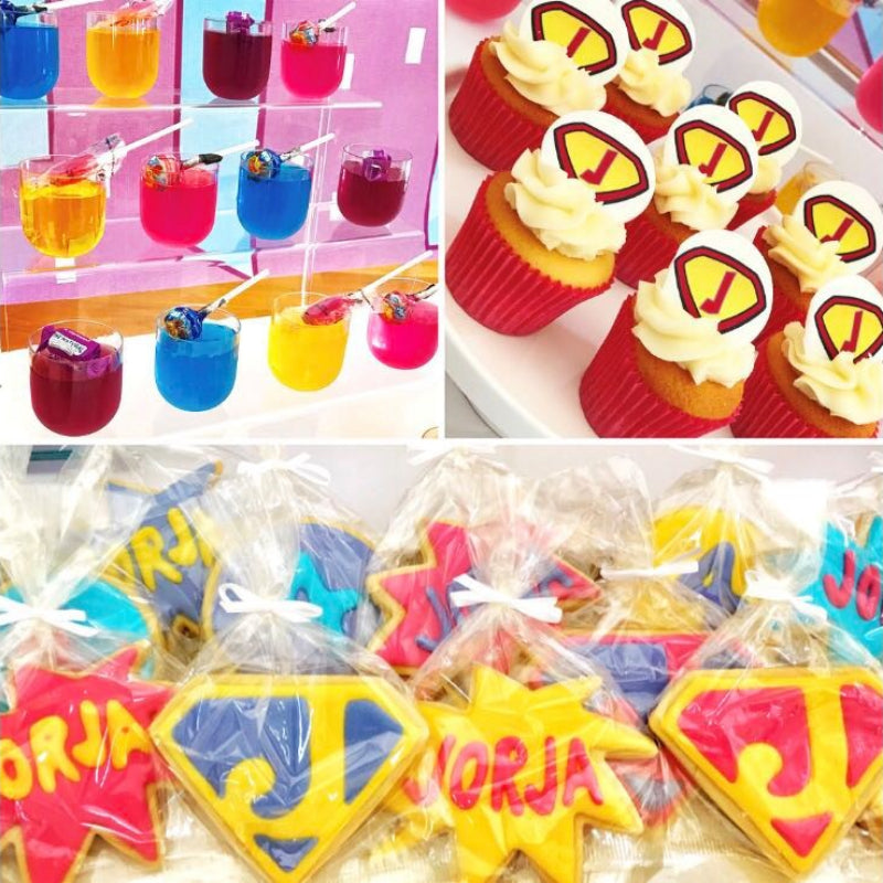 Super Hero Party Supplies and Party Supplier Theme
