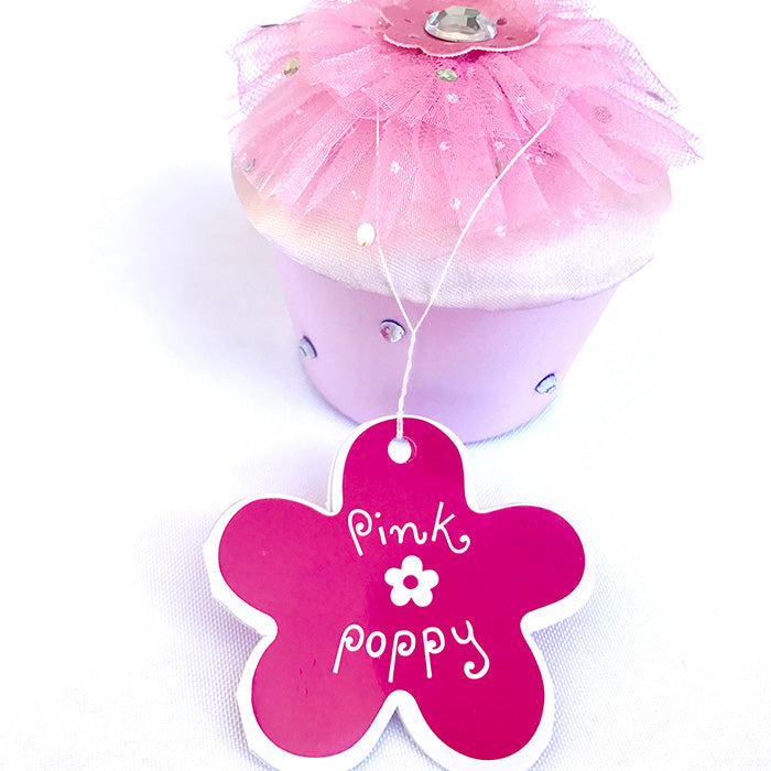 pink trinket box party favour