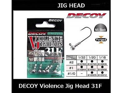 DECOY Violence Jig Head VJ-31F