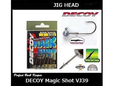 DECOY Magic Shot Jig Head VJ-39 with Barb Keeper