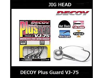 DECOY Plug Guard Jig Head VJ-75