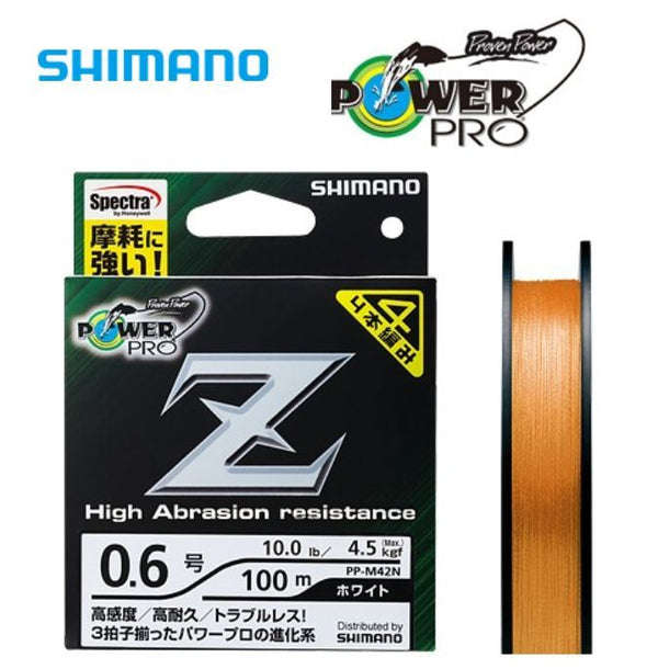 Shimano Power Pro Z High Abrasion resistance Braid Line