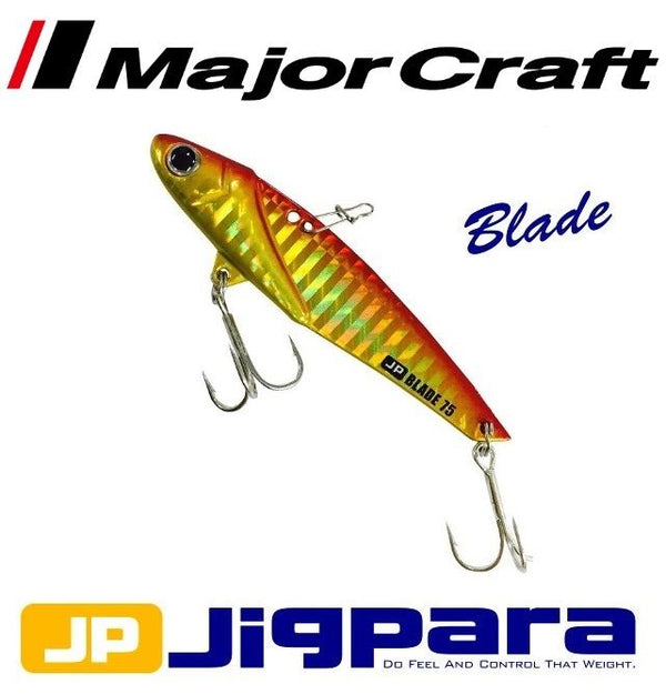 Major Craft Jigpara Vibration Blade Jig Lure #03 RedGold