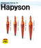 Hapyson Red Rubber Top LED Self Standing Float