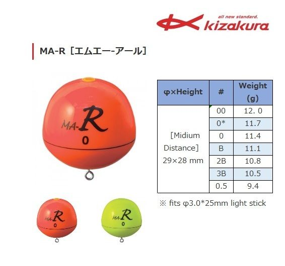 Kizakura Ring Type ISO Fishing Float MA-R