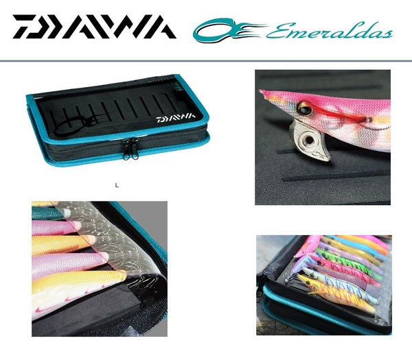 DAIWA Emeraldas Egi Holder Squid Jig case Type B  size L