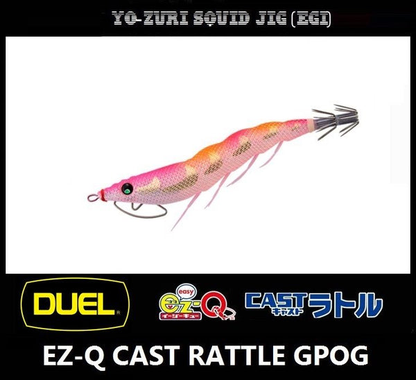 Duel EZ-Q CAST RATTLE Squid Jig GPOG
