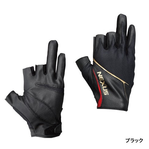 Shimano NEXUS Glove GL-123P (Three Fingers Out)