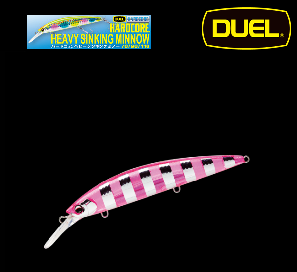 Duel Hardcore Heavy Sinking Minnow 110mm 35g