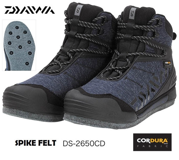 DAIWA FISHING ROCK SPIKE FELT SHOES DS-2650CD