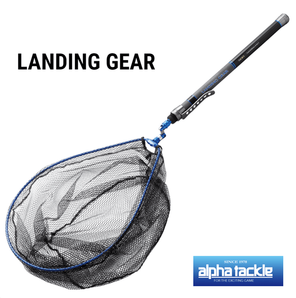Alpha Tackle Landing Gear - Pole, Frame, Net & Joint Set