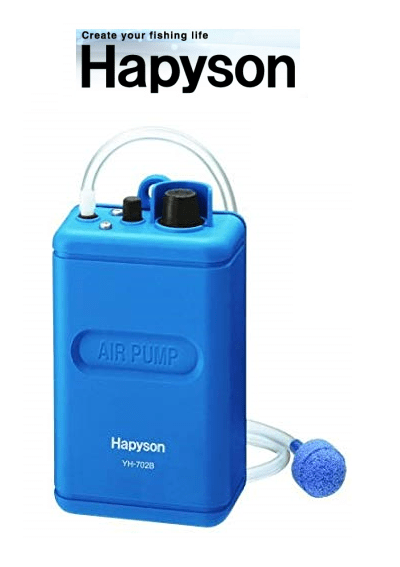 Hapyson dry battery type air pump YH-702B