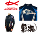 Kizakura Kurodama (Black Soul) Full Zip Shirt