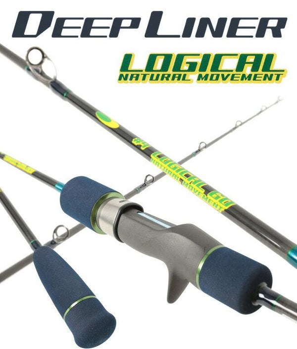 Deepliner Slow Pitch Jigging Rod Logical 60