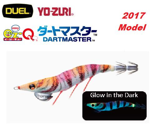 Duel EZ-Q Dart Master Squid Jig #3.5 BLOP UV Color <2017 Model> - Coastal Fishing Tackle