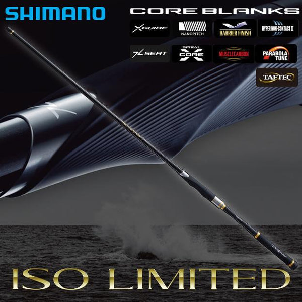 Shimano Japanese Style ISO Fishing Rod ISO Limited - Coastal Fishing Tackle