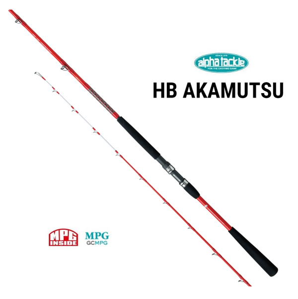 Alpha Tackle MPG HB AKAMUTSU Boat Rod