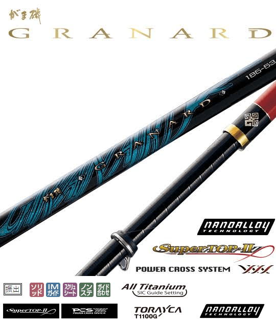 Gamakatsu ISO Fishing Rod GamaISO Granard - Coastal Fishing Tackle