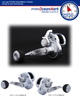 STUDIO OCEAN MARK (S.O.M) SLOW PITCH JIGGING REEL BLUE HEAVEN L30Hi