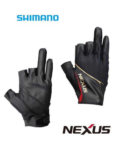 Shimano Nexus Glove Gl 123p Three Fingers Out Coastal Fishing Tackle