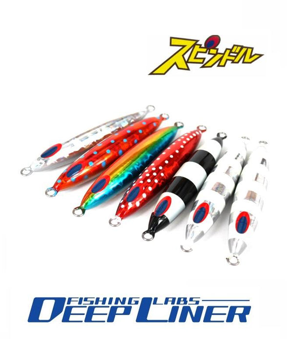 Deepliner Metal Jig Spindle 250g - Coastal Fishing Tackle