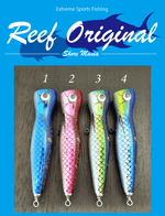Reef Original Handmade Wood Lure - Slim Popper 150