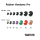 Tsuriken ISO Fishing Bite Sinker Rubber Gandama Pro