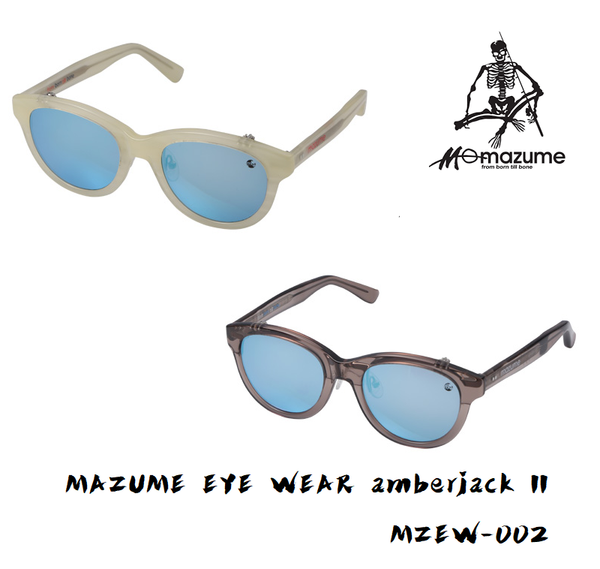 MAZUME EYE WEAR amberjack II  MZEW-002