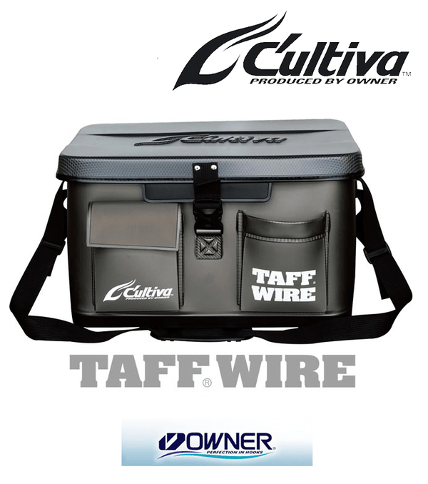 Owner Cultiva TAFF WIRE Boat Fishing Gear Bag 45 - Coastal Fishing Tackle