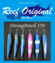 Reef Original Handmade Wood Lure - Diving Pencil Standard 150