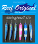 Reef Original Handmade Wood Lure - Diving Pencil Standard 170